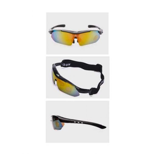 Robesbon Polarized Sunglasses with 5 Changeable Lenses