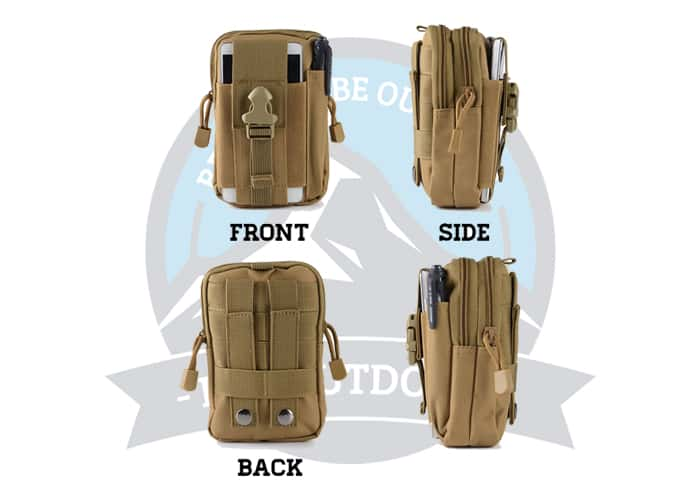 Multifunction Tactical Large Capacity Pouch