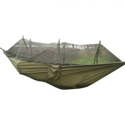 Camping Hammock with Mosquito Net, Hammock | Camping Hammock | Hammock Malaysia | Decathlon Hammock | Army Hammock