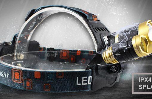 Triple LED Headlamp