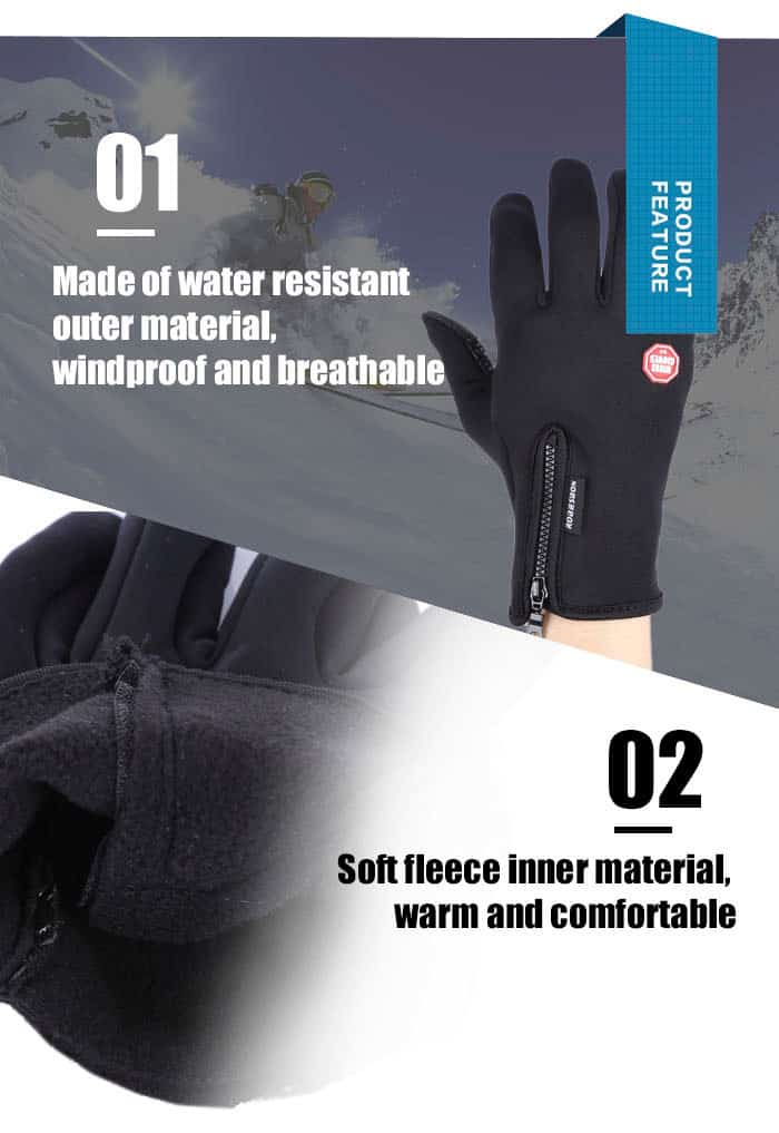 Robesbon Gloves Features