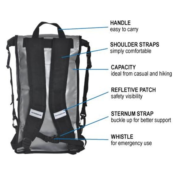 Hypergear dry pac compact 20l specifications