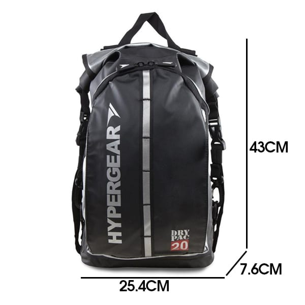 Hypergear dry pac compact 20l dimension