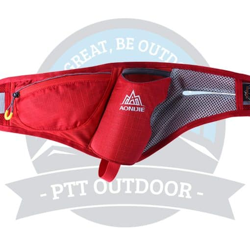 Aonijie Waist Pouch E849# (Red)