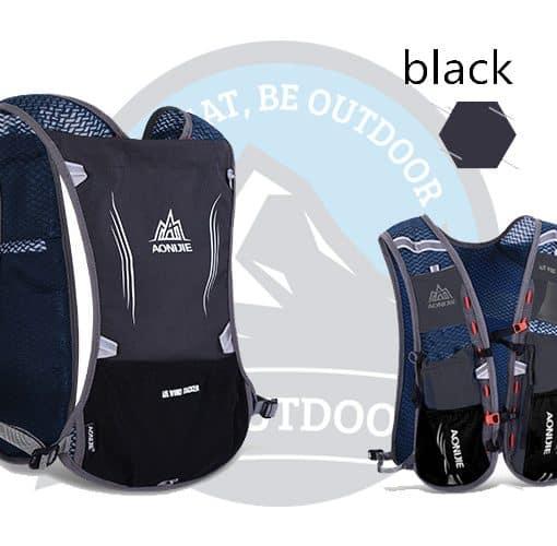 Aonijie 5L Running Bag Black
