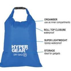 Dry Bag Q 2L Blue Front large