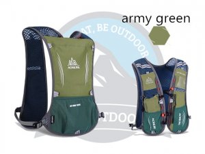 Aonijie 5L Running Bag Army Green