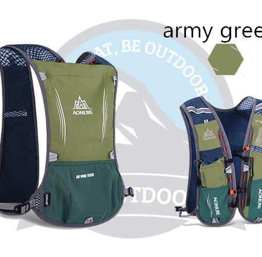 Aonijie 5L Running Bag Army Green