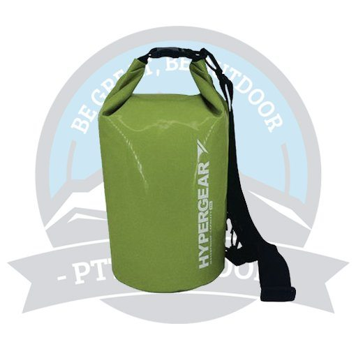 HYPERGEAR ADVENTURE DRY BAG 10L ARMY GREEN