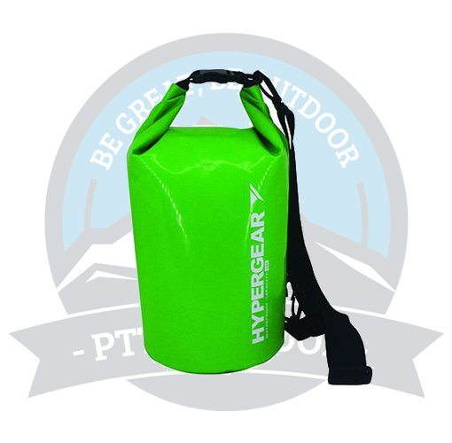 HYPERGEAR ADVENTURE DRY BAG 10L LIME GREEN