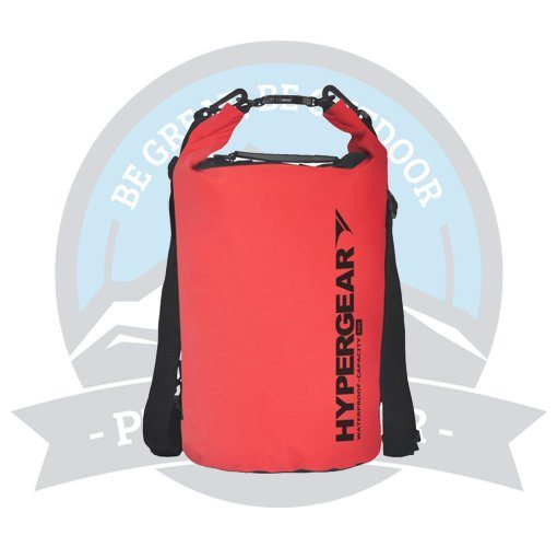 HYPERGEAR ADVENTURE DRY BAG 20L RED