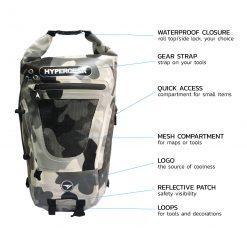 HYPERGEAR Dry Pac Tough 20L Bag2