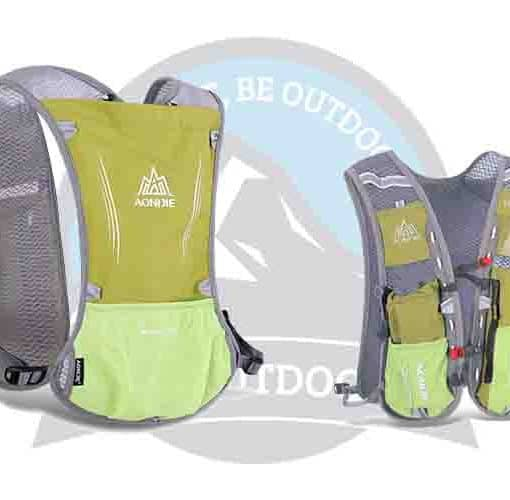 Aonijie 5L Running Bag Lime Green