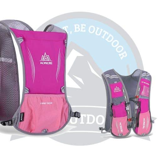 Aonijie 5L Running Bag Pink