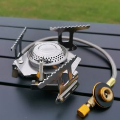 Spider Camping Stove with Hose and Adapter 1