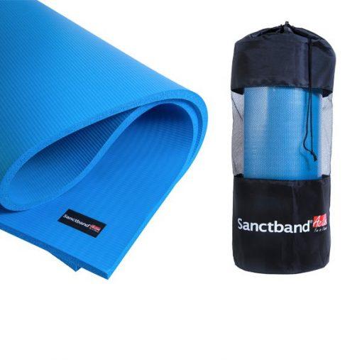 SANCTBAND ACTIVE EXERCISE MAT, sanctband malaysia, exercise mat malaysia, affordable exercise mats, teal, grey, sanctband in malaysia