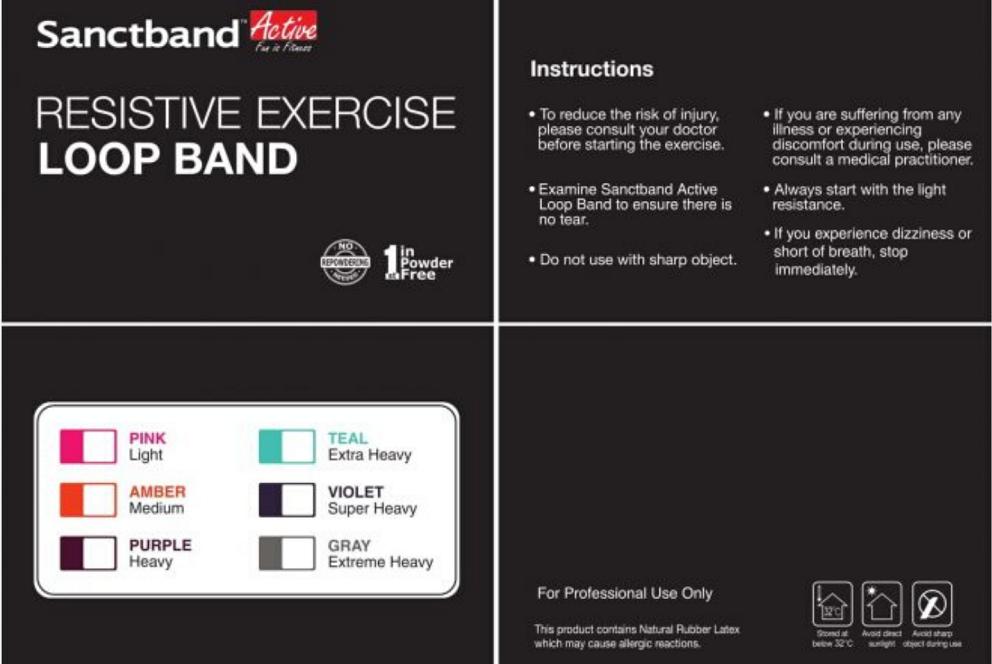 SANCTBAND ACTIVE Mini Loop 3 in 1 Bundle, Sanctband | Mini Loop | Mini Loop 3 in 1 Bundle Workouts | Mini Loop 3 in 1 Bundle Exercises| Mini Loop 3 in 1 Bundle Malaysia