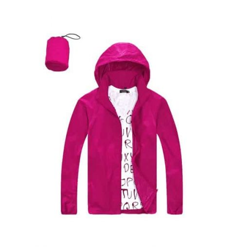 Water Resistance Single Layer Windbreaker