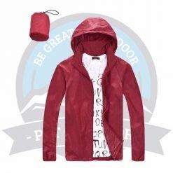 Water Resistance Single Layer Windbreaker, windbreaker, windbreaker jacket, windbreaker womens, windbreaker malaysia, hooded windbreaker jacket