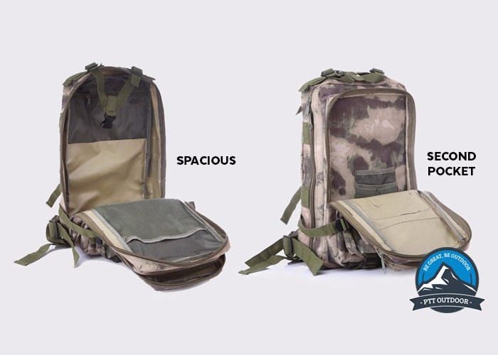 TAHAN Tactical 35L Backpack, big storage, bagpack, beg, beg hiking, besar, liter