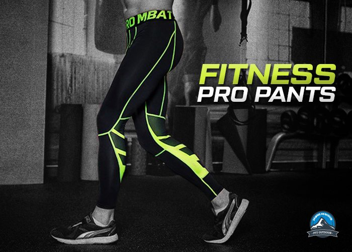 Black, Green, seluar joging, hiking, runnng, seluar ketat, fitness pro pants