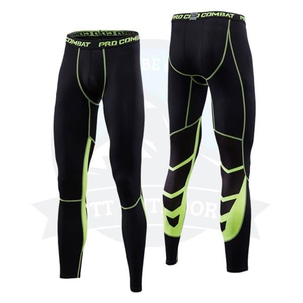 Green, seluar legging sukan