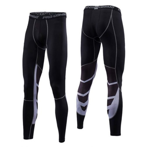Black Fitness Pro Compression Pants