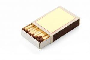 open box of matches PEL4WQ3