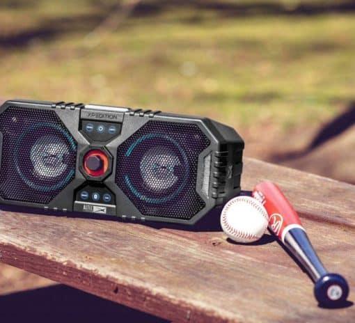 outdoor speaker, waterproof speaker, 12 colour led, speaker, portable speaker