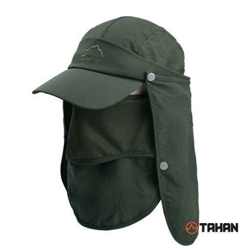 Tahan Outdoor Multi-function Sunhat, removal, cap, cover face sunhat, sunlight cover cap, free shipping, adjustable, affordable, unisex wear