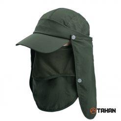 TAHAN Outdoor Suncap Army Green