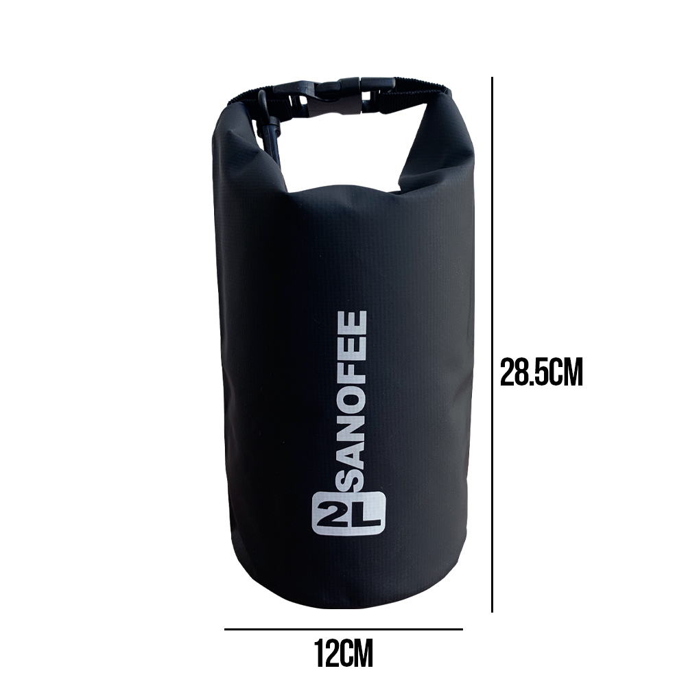 SANOFEE Dry Bag, 5l Capacity lightweight travel bag, 2L capacity lightweight travel bag, hiking bag, camping bag, foldable bag