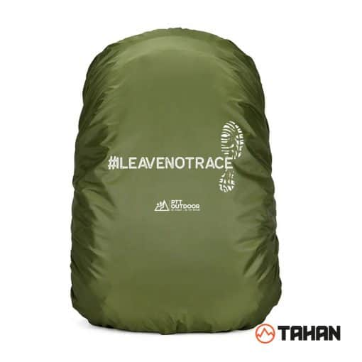 TAHAN Raincover (#ILEAVENOTRACE), rainy day, cover bag, penutup, pelindung