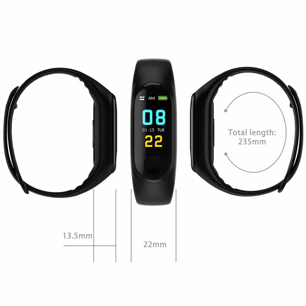 M3X Bluetooth Bracelet, Yoho Sports Apps, Heart rate watch, smartwatch, touch screen running watch, jam running, m3x, m4x