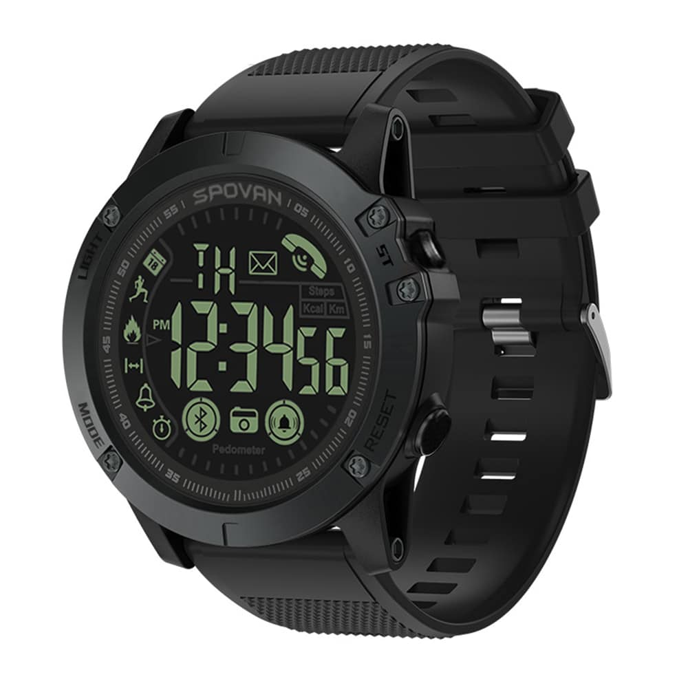 Spovan 1P68 Smart Watch, smartwatch in malaysia, spovan malaysia, running smart watch, cycling smart watch, smart watch sukan, smart watch tahan lasak, smart watch waterproof