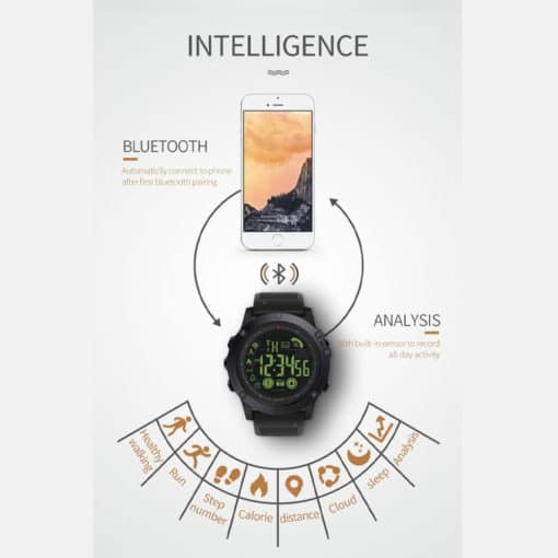 Spovan 1P68 Smart Watch