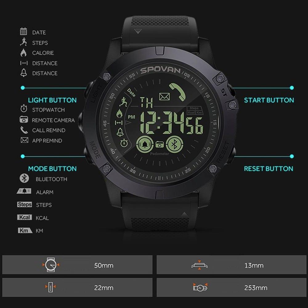 Spovan 1P68 Smart Watch, smartwatch in malaysia, spovan malaysia, running smart watch, cycling smart watch, smart watch sukan, smart watch, smart watches, best smart watches, smart watch malaysia, jam pintar malaysia