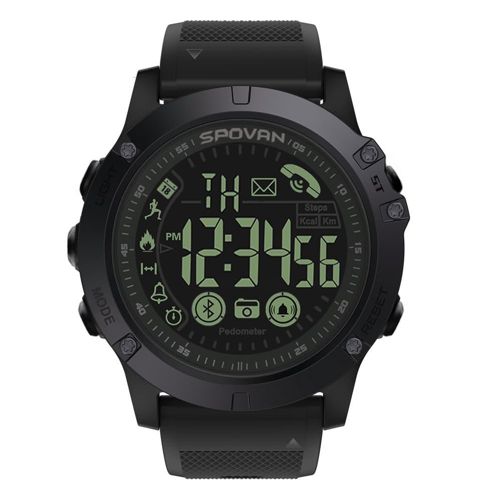 Spovan 1P68 Smart Watch, smartwatch in malaysia, spovan malaysia, running smart watch, cycling smart watch, smart watch sukan, smart watch tahan lasak, smart watch waterproof