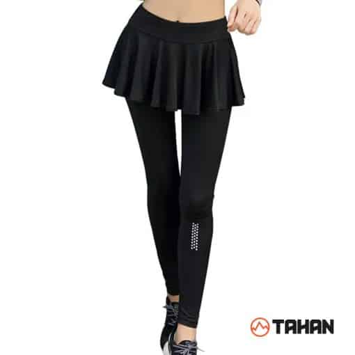 TAHAN Sport Legging with Skirt, Skirt With Legging, Short Skirt With Leggings, Golf Skirt With Leggings, Skirt Pendek Dengan Legging, Skirt Sukan