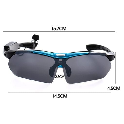 Robesbon Polarized Sunglasses with Bluetooth
