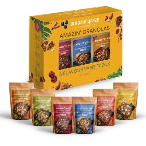 Variety Box Granolas