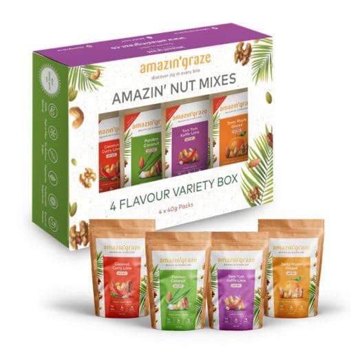 variety box nut mixes