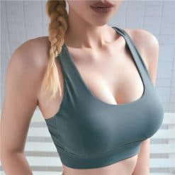 Let's Fit Cross-Back Sport Bra