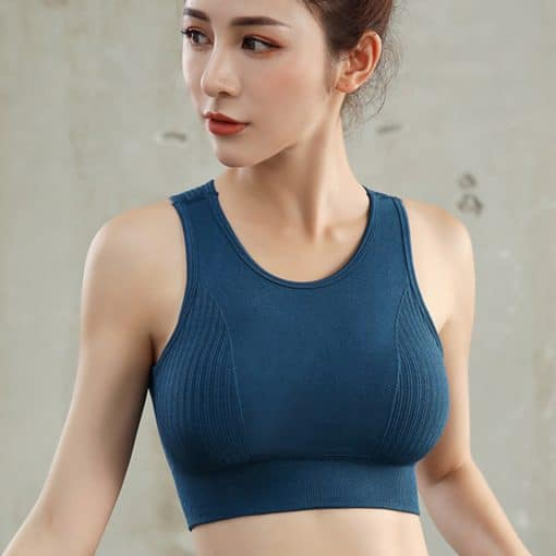 Ezmove Seamless Push Up Sport Bra