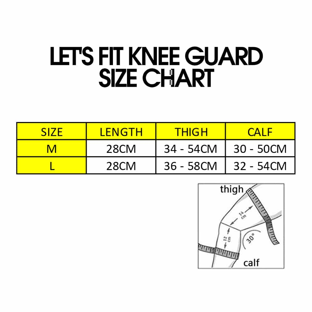 Let's Fit Knee Guard (Pair), Knee Guard, Ebene Knee Guard, Knee Guard For Knee Pain, Knee Guard Malaysia