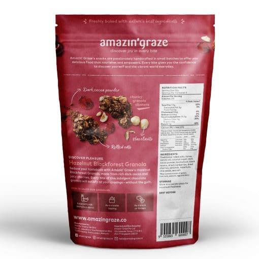 back Hazelnut Granola