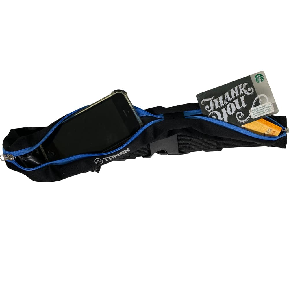 TAHAN Jogging Belt Pouch Storage Capacity