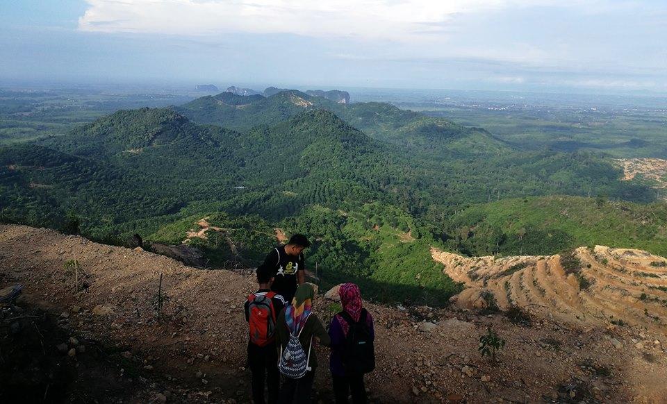 view of bukit tok dun perlis