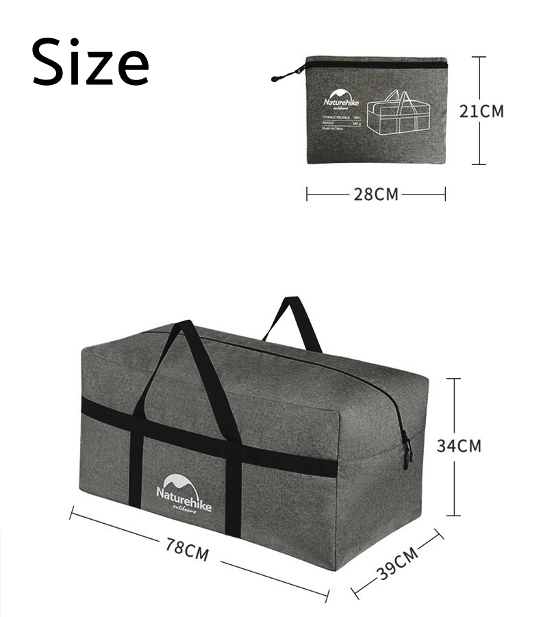 foldable bag, travel bag, naturehike bag