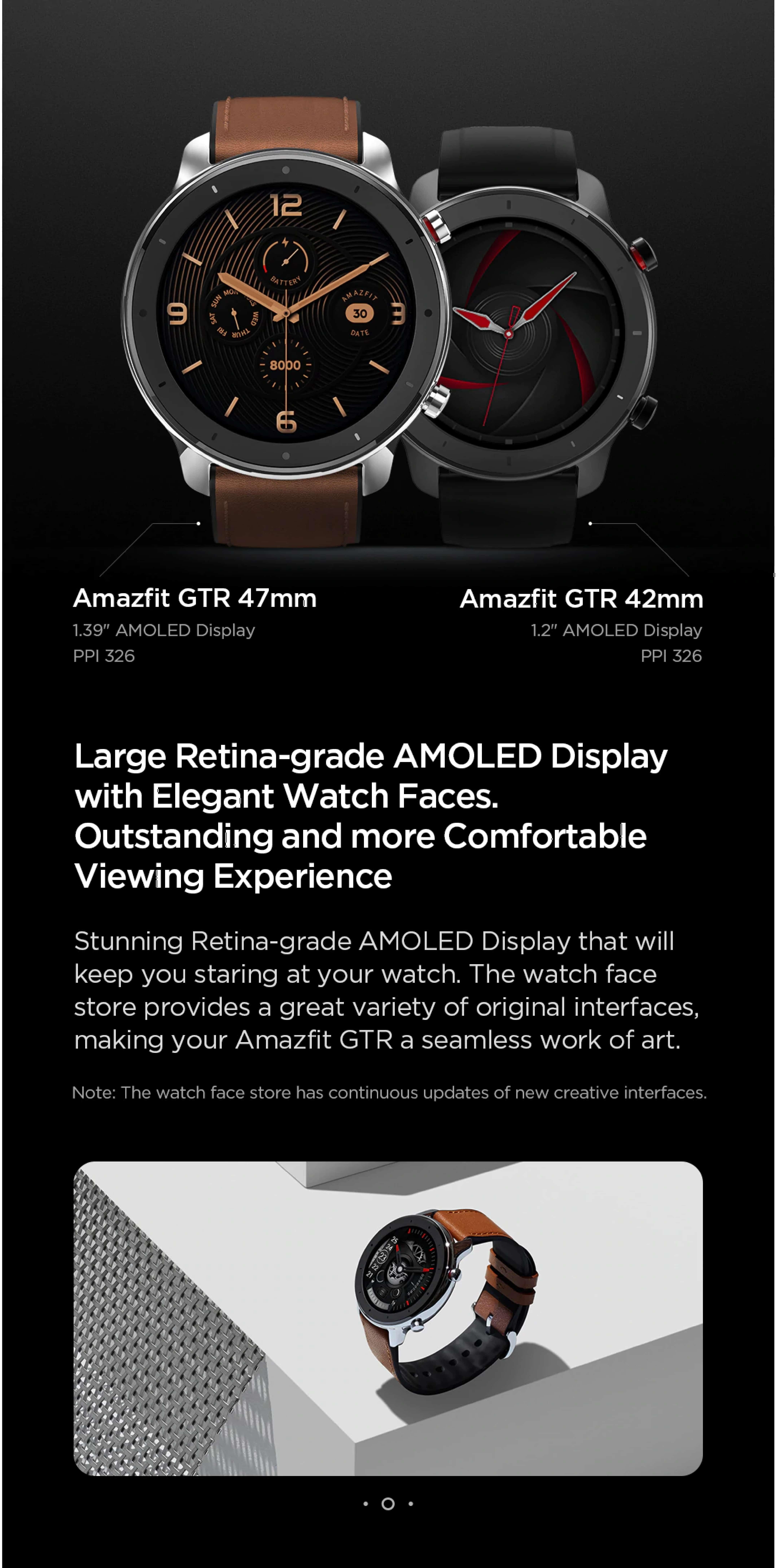 Amazfit GTR 42mm, multifunction watch, in malaysia, watch stylish, modern